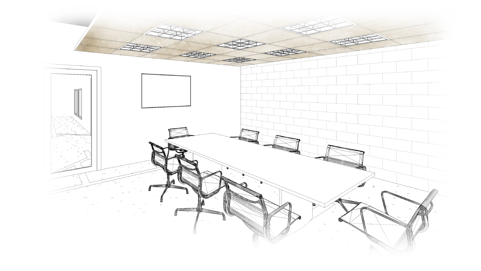 confrence room design plan